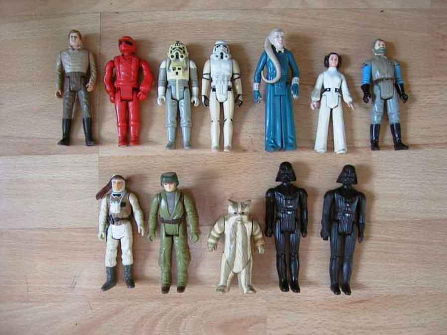 Star Wars Vintage - Figuren Sammlung 70er Jahre