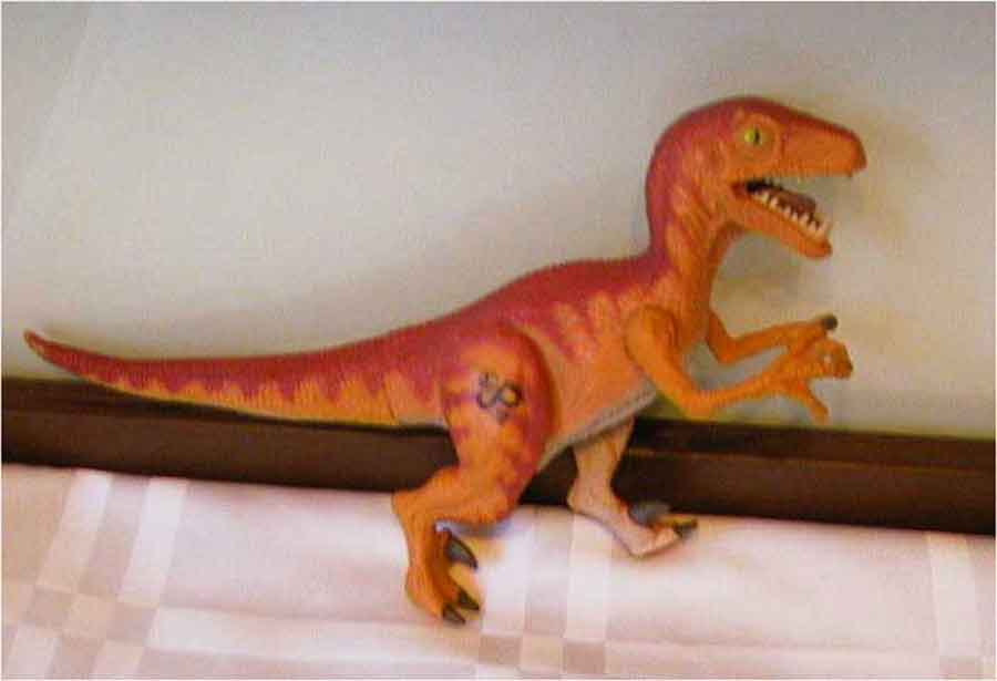 Gebrauchte Actionfiguren - Dinosaurier - T-Rex