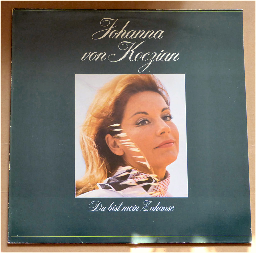 Vinyl LP Johanna von Koczian
