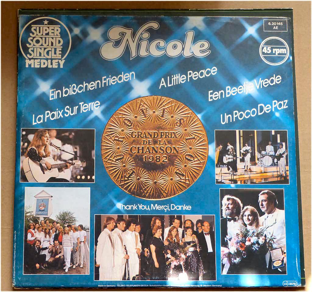 Bereicherung, Nicole Sound Album