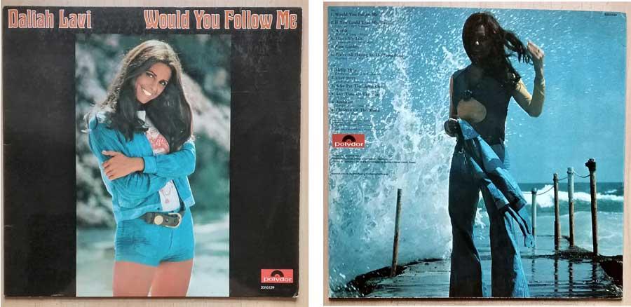 Schallplatte, Vinyl mit Daliah Lavi