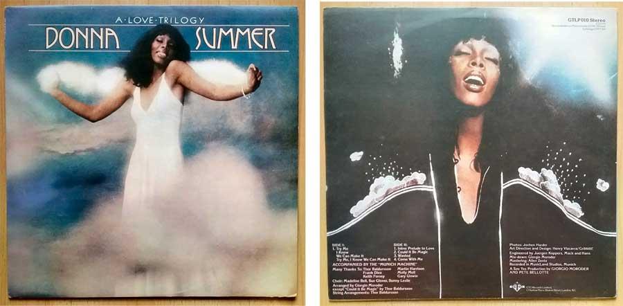 Schallplatte, Album mit Donna Summer