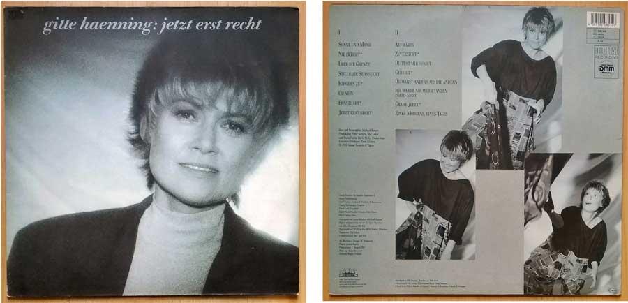 Langspielschallplatten, Album Gitte Haenning