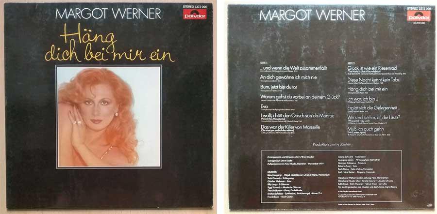 Schallplatte, Album mit Margot Werner