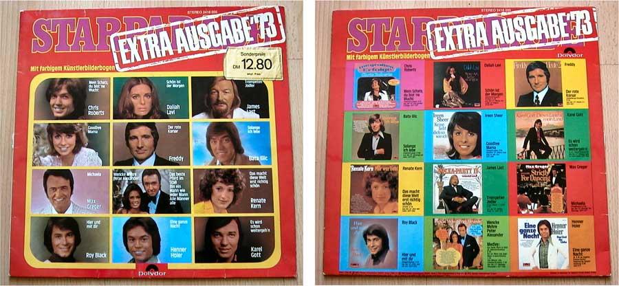 Starparade - Extra Ausgabe '73 - LP Vinyl von 1973