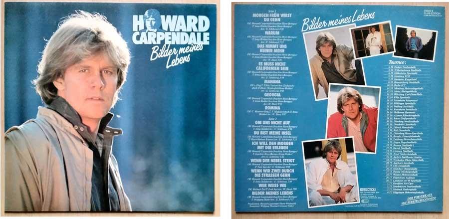 Album, Schlagermelodien mit Howard Carpendale