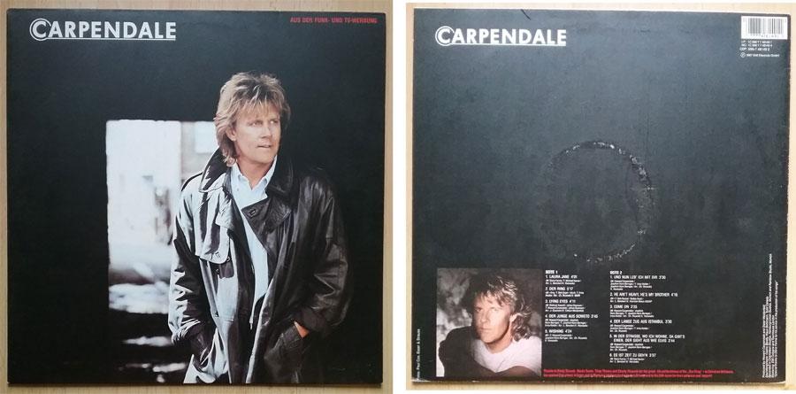 Schallplatte mit Howard Carpendale