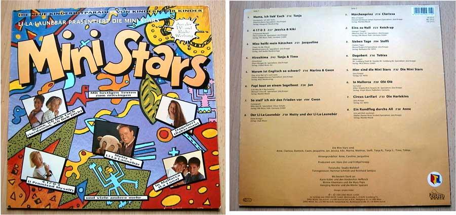 Mini Stars - Die neue Kinderhitparade - LP 12 Zoll - Vinyl von 1990