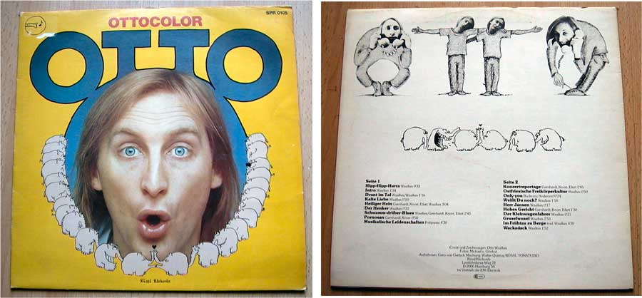Otto - Ottocolor - LP 12 Zoll - Vinyl Kinderhitparade