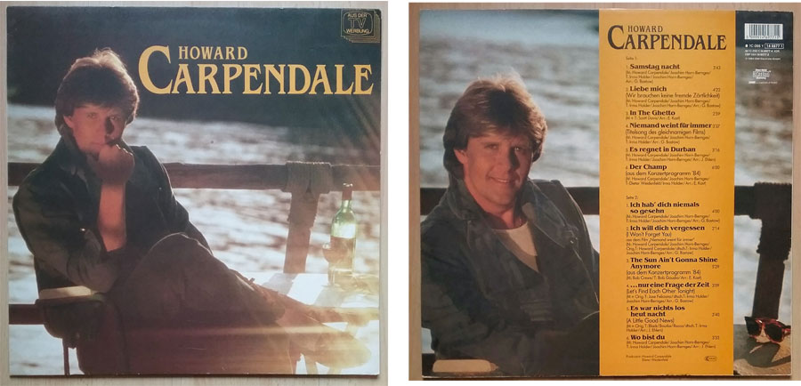 Vinyl, Album von Howard Carpendale