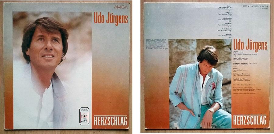 Schallplatte aus Berlin, DDR von Udo Jürgens