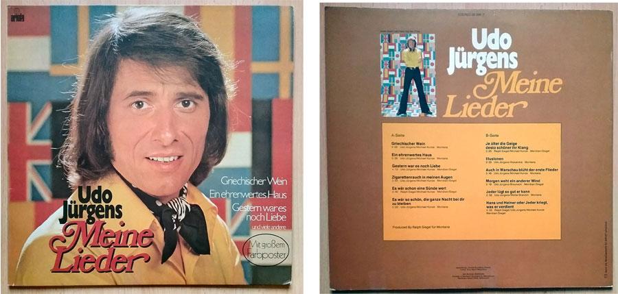 Schallplatte, LP mit Udo Jürgens