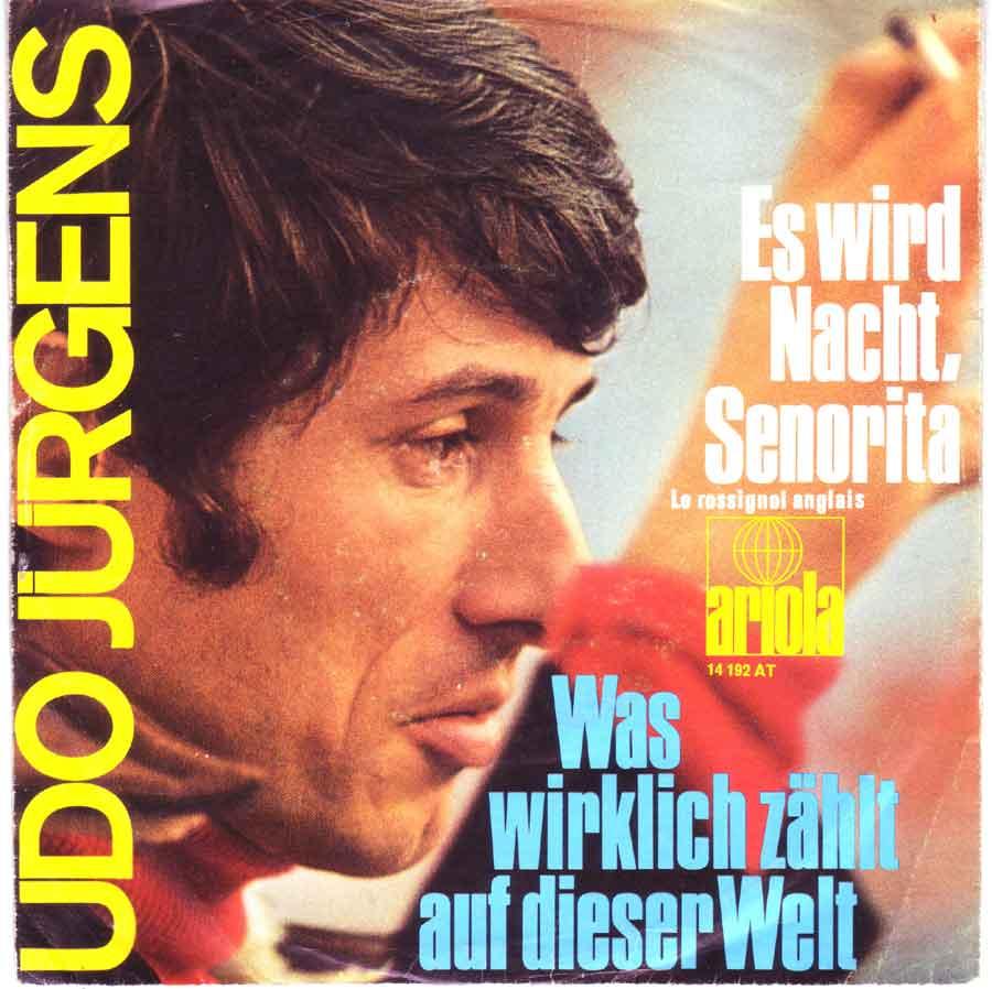Single für eine Jukebox von Udo Jürgens