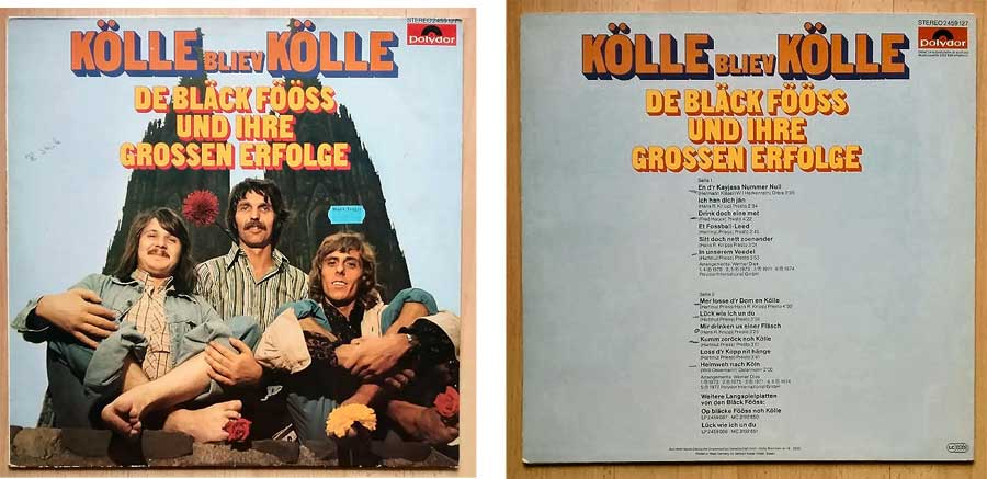 De Bläck Fööss, Kölle Bliev Kölle auf 12 Zoll LP (Langspielplatte)