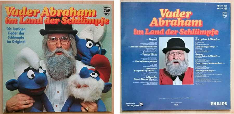Kinderlieder auf Schallplatte mit Vader Abraham