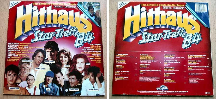 Hithaus - Top-aktuelle deutsche Schlager - LP Vinyl von 1984