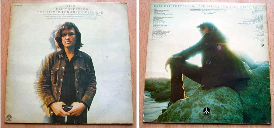 Kris Kristofferson - The Silver Tongued Devil And I - LP Vinyl von 1974