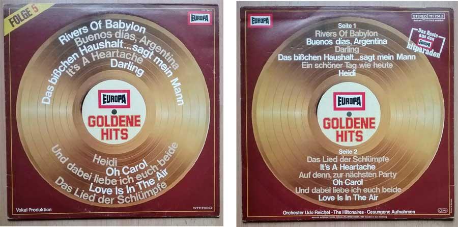 Europa Hitparaden auf LP/Vinyl