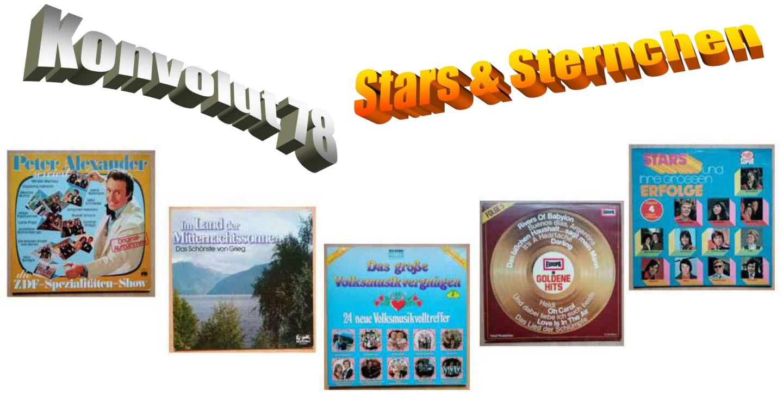 Stars und Sternchen auf Vinyl, Schallplatten