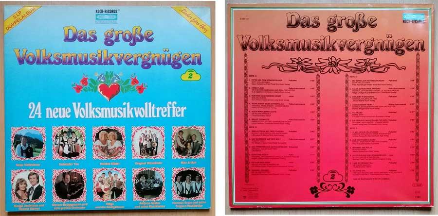 LP mit Volksmusikvergnügen aus Tirol