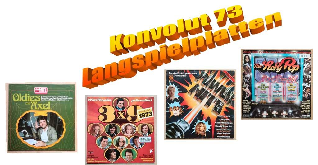 Brandheiss, Schallplatten der 70er und 80er