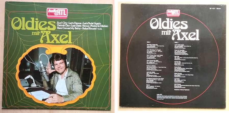 Oldies mit Axel von Hallo RTL auf Schallplatte