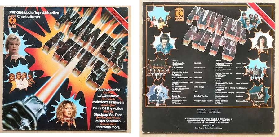 Power Hits Chartstürmer auf LP - Brandheiss