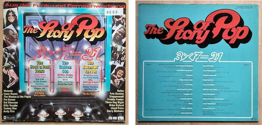 The Story Of Pop auf LP, Schallplatte, Brandheiss