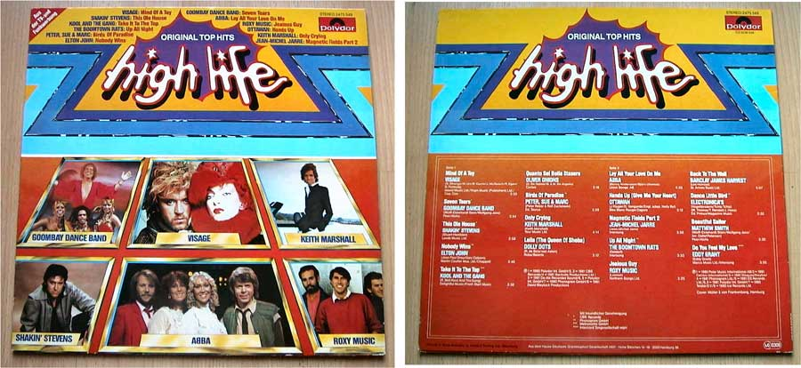 High Life - Original Top Hits - LP Vinyl von 1981