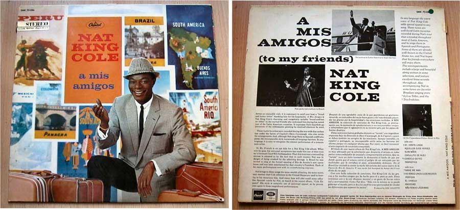 Nat King Cole - A Mis Amigos - LP Vinyl von 1959