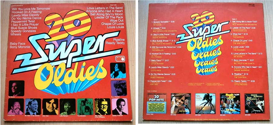20 Super Oldies - LP Vinyl von 1974
