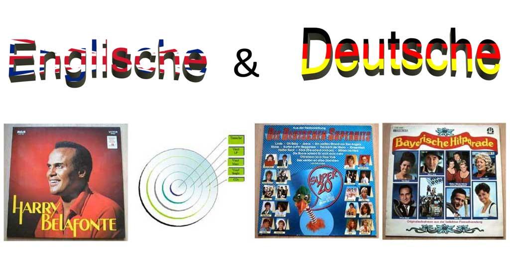 Superhits Deutsche und Englische Hits auf 12 Zoll LP Vinyl