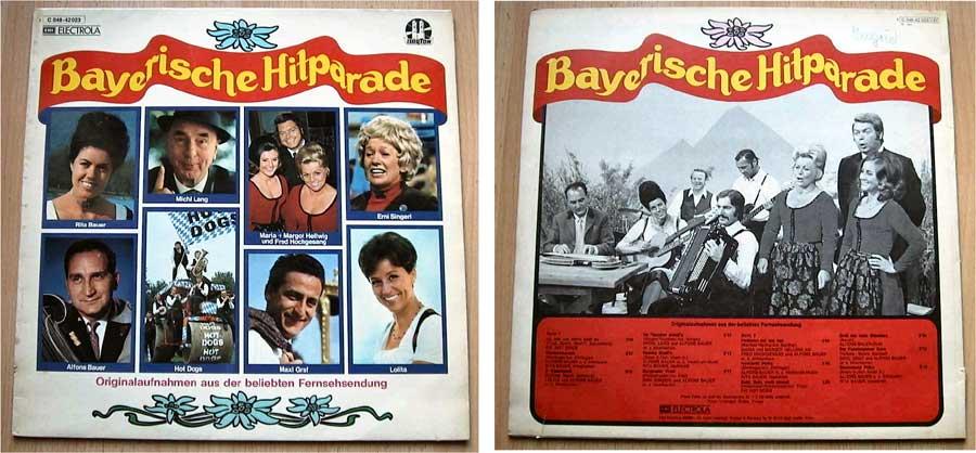 Bayerische Hitparade - LP Vinyl von 1973