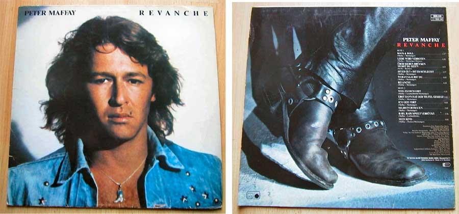 Peter Maffay - Revanche - LP Vinyl von 1980