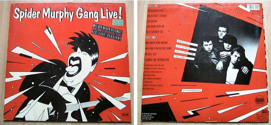 Spider Murphy Gang - Live! - LP Vinyl von 1983