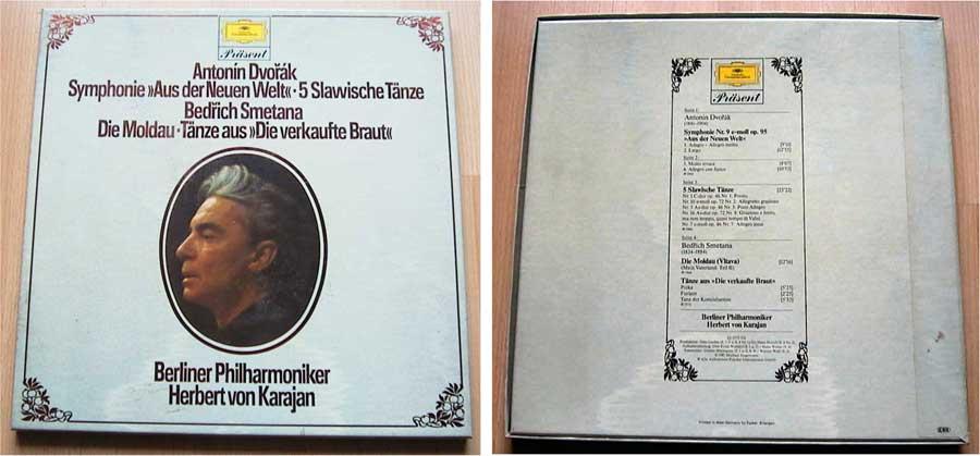 Antonin Dvorak - Symphonie Aus der Neuen Welt - Doppel-LP von 1981
