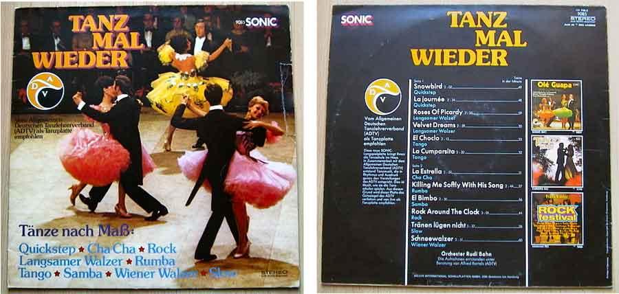 Tanz Mal Wieder mit Musik auf Schallplatte Vinyl