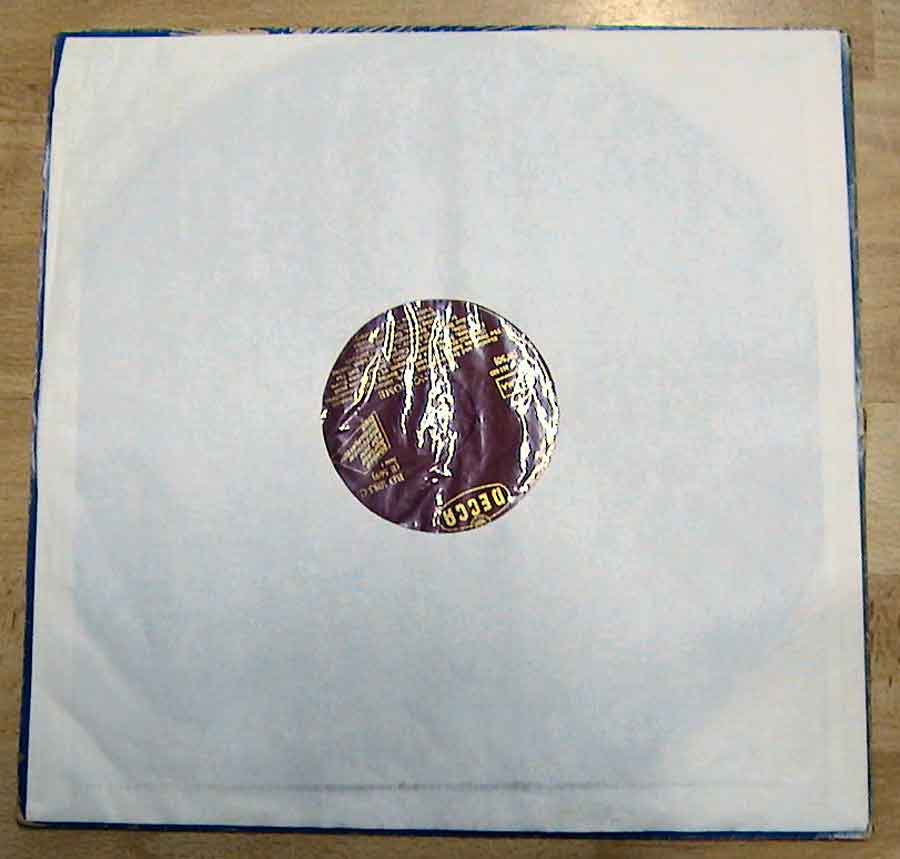 Schutzhülle aus Papier für Schallplatten