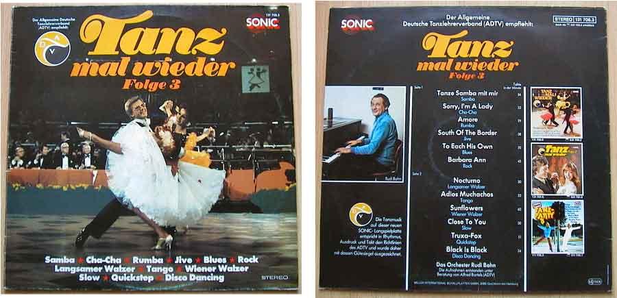 Orchester Rudi Bohn mit Tanzmusik auf Schallplatte