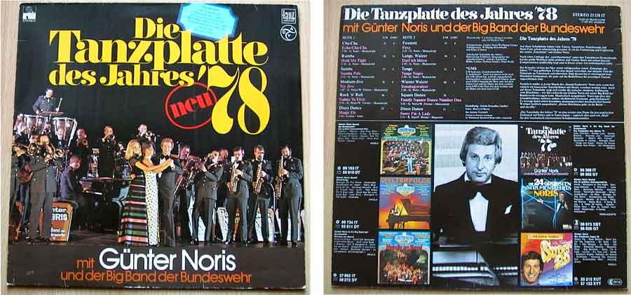 Tanzschallplatte aus dem Jahr 1978