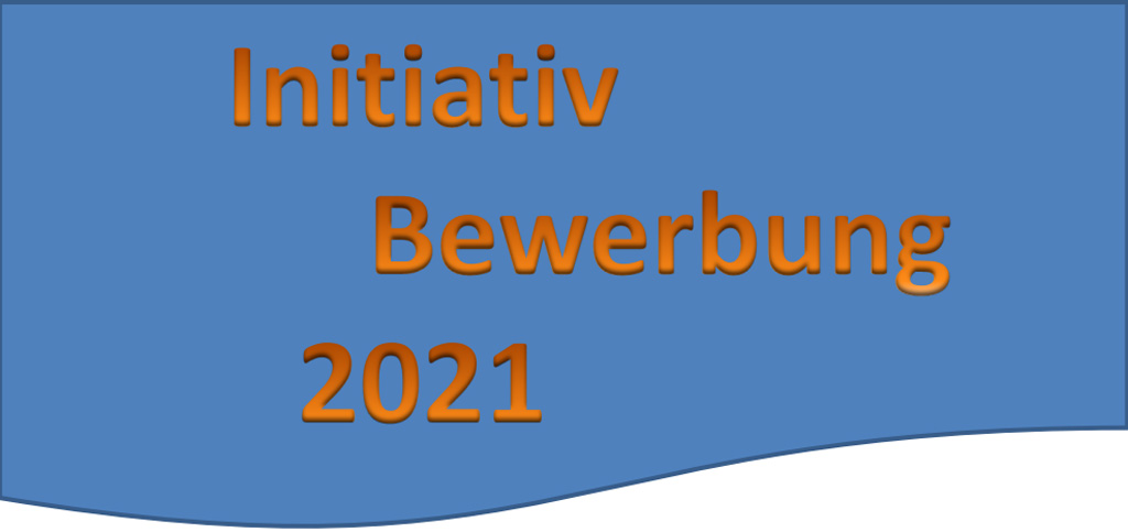 Initiativ-Bewerbung Abbildung Bewerbungsunterlagen