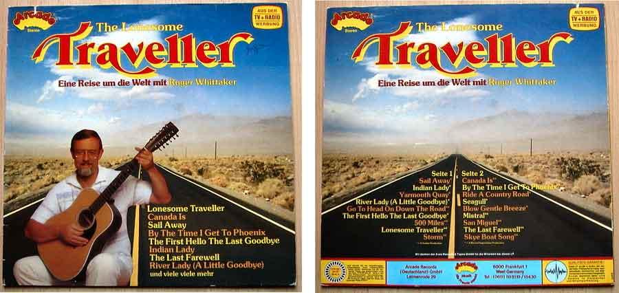 Zabadak mir Roger Whittaker Traveller auf Vinyl
