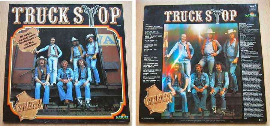 Truck Stop - Zuhause - LP Vinyl von 1977