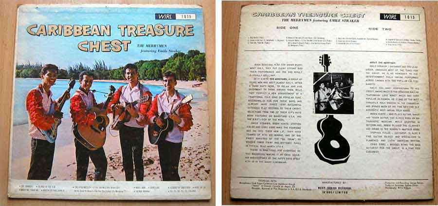 Caribbean Treasure Chest - LP Vinyl von 1966