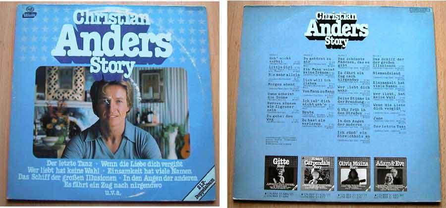 Christian Anders Story - Doppel-LP Vinyl von 1979
