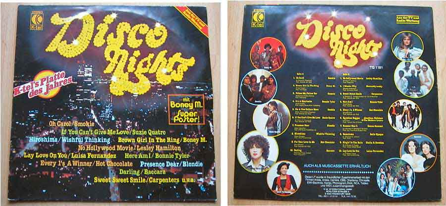 Disco Nights aus der TV- und Radiowerbung - LP Vinyl von 1978