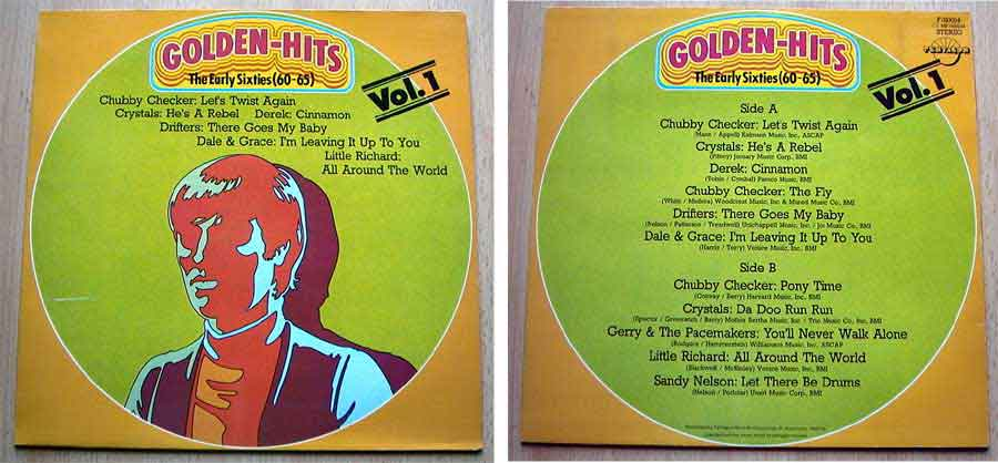 Golden Hits The Early Sixties (60-65) Vol. 1 - LP Vinyl von 1980?