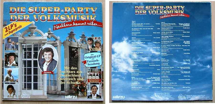 Die Super-Party der Volksmusik auf Vinyl zum tauschen