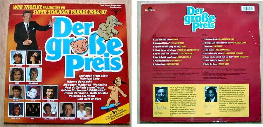 Super Schlager Parade auf Vinyl Schallplatte zum tauschen