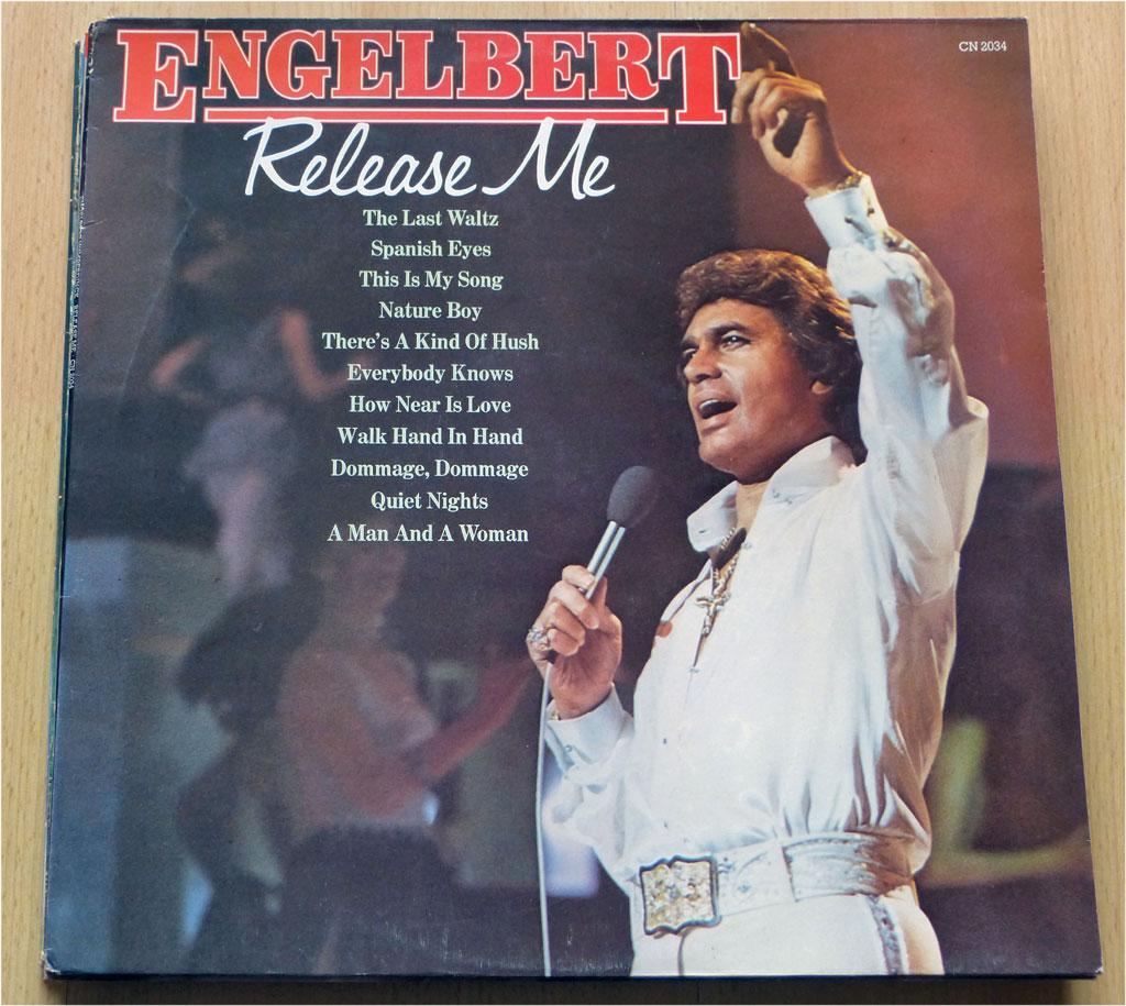 Langspielplatte Release Me von 1981